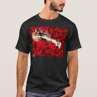 Gewehre und Rosen T-Shirt