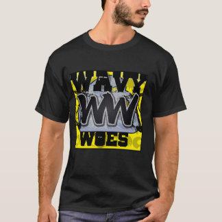 Gewellte Elend-Logo-Shirt DopeNess Kleidung T-Shirt