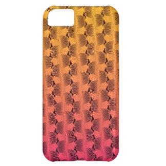 Gewellte Linien in den tropischen Farben iPhone 5C Hülle