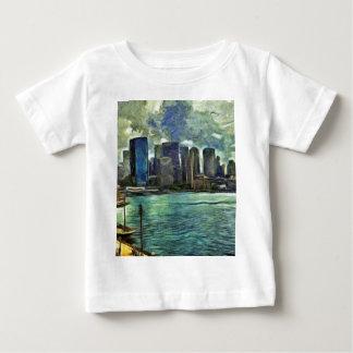 Gewellte Skyline von Sydney Baby T-shirt