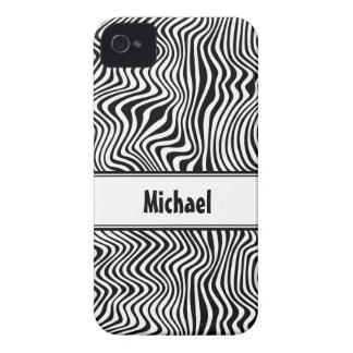 Gewellte Streifen Case-Mate iPhone 4 Hülle