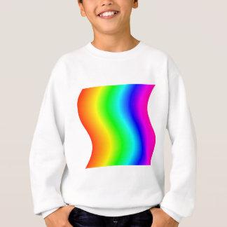 Gewellter Regenbogen #3 Sweatshirt