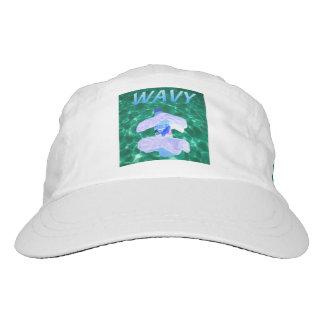 Gewellter Vaporwave Hut Headsweats Kappe