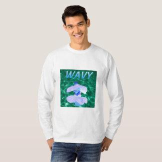 Gewelltes Vaporware Crew-Hals Sweatshirt