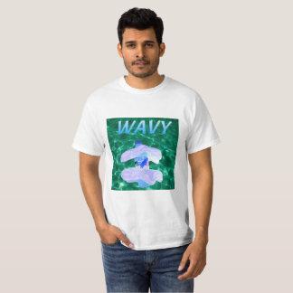 Gewelltes Vaporwave T-Shirt