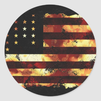Gewerkschafts-Flagge, ziviler Krieg, US Flagge, US Stickers