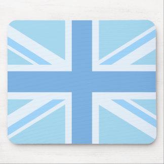 Gewerkschafts-Flaggen-/Jack-Entwurfs-Blues Mousepad