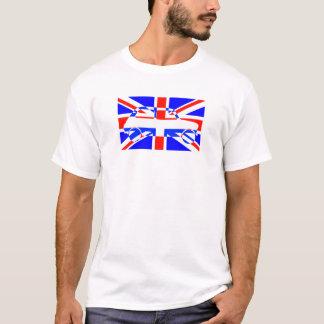 Gewerkschafts-Flaggen-klassisches Mini T-Shirt