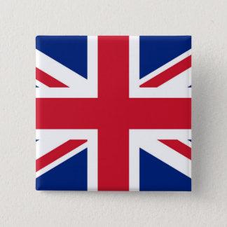 Gewerkschafts-Jack - Abzeichen Quadratischer Button 5,1 Cm