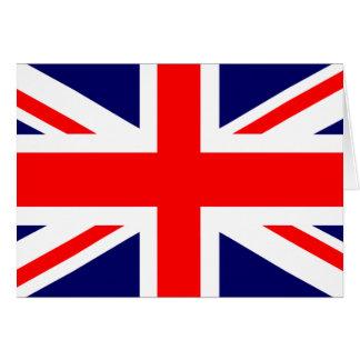 Gewerkschafts-Jack-Briten-Flagge Karte