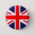 Gewerkschafts-Jack - BRITISCHE Flagge Runder Button 5,1 Cm
