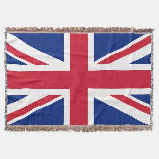 Gewerkschafts-Jack-britische Flaggethrow-Decke Decke