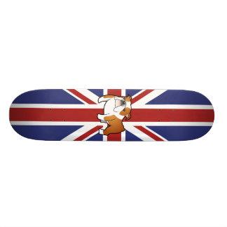 Gewerkschafts-Jack-Cartoon-Englisch-Bulldogge Individuelle Skateboards