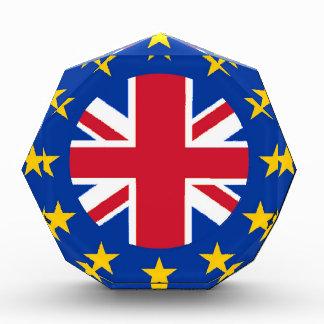Gewerkschafts-Jack - EU kennzeichnen Acryl Auszeichnung