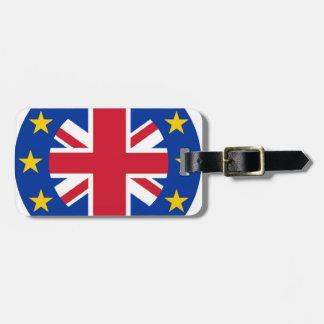 Gewerkschafts-Jack - EU kennzeichnen Kofferanhänger