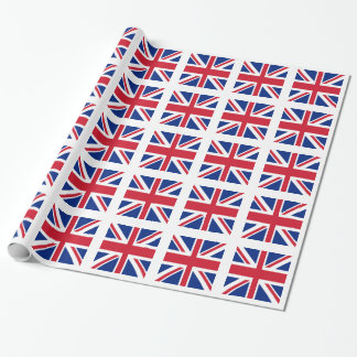 Gewerkschafts-Jack - Flagge des Vereinigten Geschenkpapier