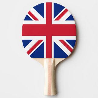 Gewerkschafts-Jack - Flagge des Vereinigten Tischtennis Schläger