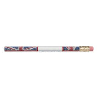 Gewerkschafts-Jack-Flagge - gekrümmt Bleistifte 0