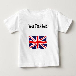 Gewerkschafts-Jack-Flagge - kundengerecht mit Baby T-shirt