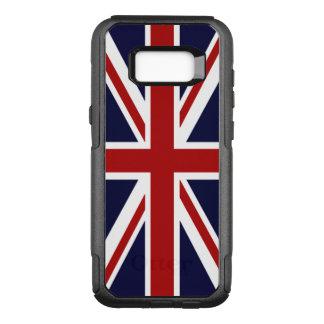 Gewerkschafts-Jack Großbritannien-Flagge OtterBox Commuter Samsung Galaxy S8+ Hülle