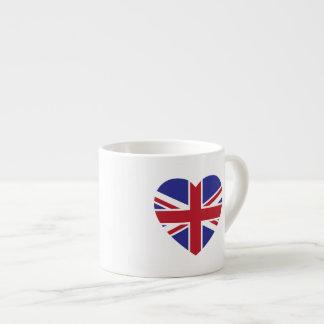 Gewerkschafts-Jack-Herzespresso-Tasse Espressotasse