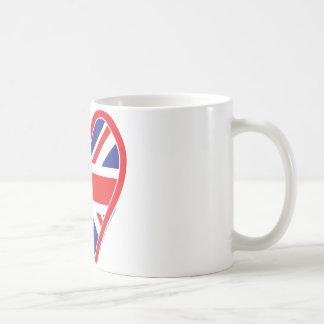 Gewerkschafts-Jack-königliches Herz Kaffeetasse