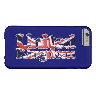 Gewerkschafts-Jack-Königreich-Flaggen-patriotische Barely There iPhone 6 Hülle