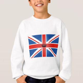 Gewerkschafts-Jack mit zentraler Krone Sweatshirt