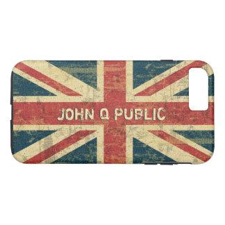Gewerkschafts-Jack-Namen-Schablone iPhone 8 Plus/7 Plus Hülle