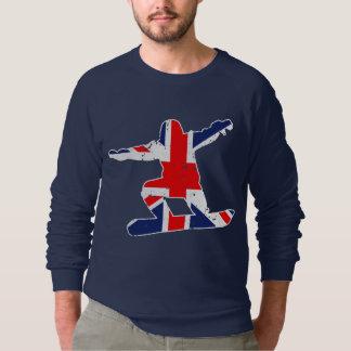 Gewerkschafts-Jack SNOWBOARDER (weiß) Sweatshirt