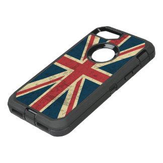 Gewerkschafts-Jack-Vintage britische Flagge OtterBox Defender iPhone 8/7 Hülle
