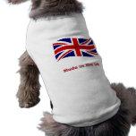 Gewerkschafts-Jackflagge gemacht im britischen Hun Hundetshirt