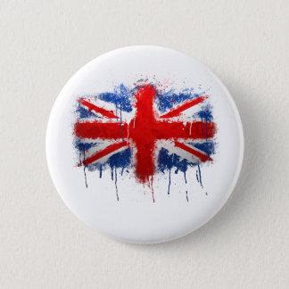 Gewerkschafts-JackGraffiti Runder Button 5,7 Cm
