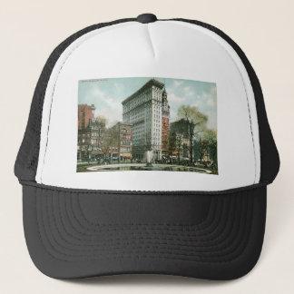 Gewerkschafts-Quadrat, New York Truckerkappe