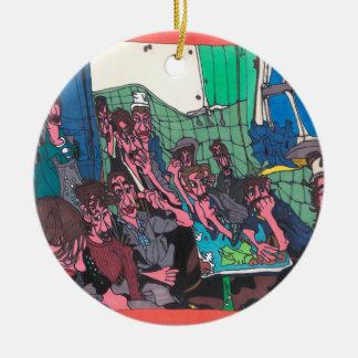 Gewerkschafts-Sitzung Keramik Ornament