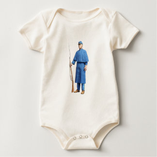 Gewerkschafts-Soldat-Schutz Baby Strampler