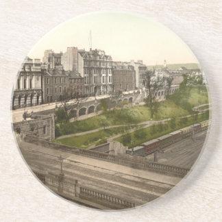 Gewerkschafts-Terrasse, Aberdeen, Schottland Untersetzer