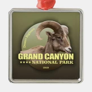 GEWICHT Grand Canyon NP (Bighorn) Silbernes Ornament