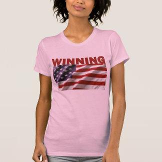 Gewinnen - das USA T-Shirt