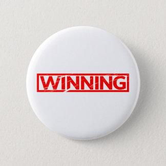 Gewinnende Briefmarke Runder Button 5,1 Cm