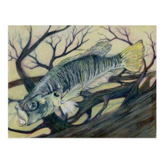 Gewinnende Kunst durch D. Myers Grade 9 Postkarte