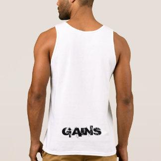 """""""GEWINNT"""" kundenspezifisches Muskel-Shirt Tank Top"""