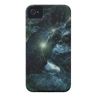 Gewitterblitz wild lebende Tiere tapferes mutiges iPhone 4 Cover