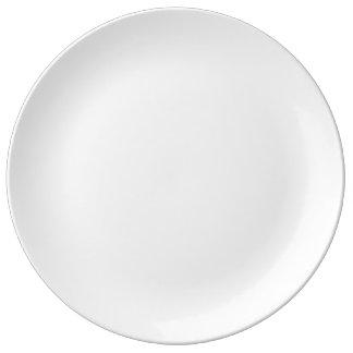 "Gewohnheit 10,75"" dekorative Porzellan-Platte Porzellanteller"