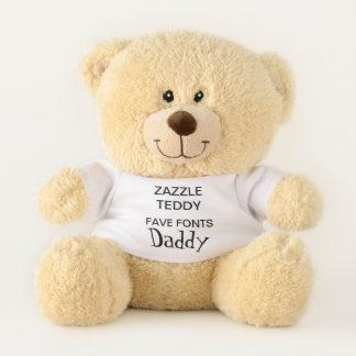 "Gewohnheit 11"" Teddy-Bärn-Spielzeug-Schablone VATI Teddybär"