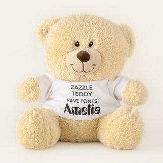 "Gewohnheit 11"" Teddybär-Spielzeug-Schablone AMELIA Teddybär"