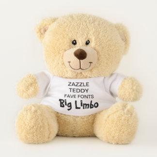 "Gewohnheit 11"" Teddybär-Spielzeug-Schablone GROSSE Teddybär"