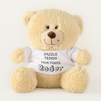 """Gewohnheit 11"""" Teddybär-Spielzeug-Schablone RODER Teddybär"""