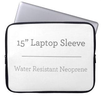 Gewohnheit 15 Zoll-Laptop-Hülse Laptopschutzhülle