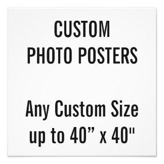 """Gewohnheit 16"""" x 16"""" Foto-Plakat, bis 40"""" x 40"""" Fotodruck"""